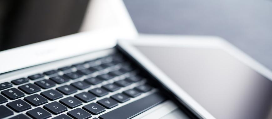 laptop και tablet